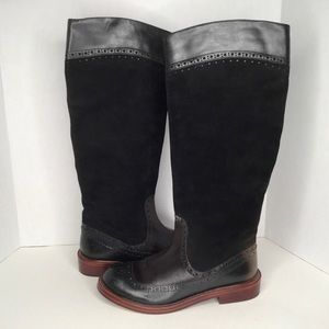 Marc by Marc Jacobs leather suede tall boots.
